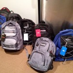 back packs for the homeless